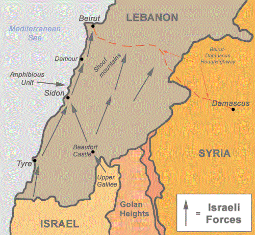 1982 lebanon war map.png