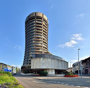 The BIS tower of Basel