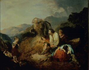 An Irish Peasant Family Discovering the Blight of their Store by Daniel MacDonald.jpg