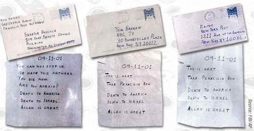 "Initially blamed on ""Islamic terrorists"", the Amerithrax mailings were quickly found to have emerged from within the US military establishment"