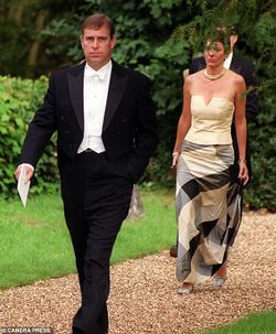 """Ghislaine Maxwell and the Duke of York in newly resurfaced pictures"".[9]"
