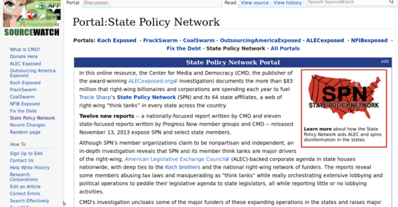 Sourcewatch on State Policy Network.png